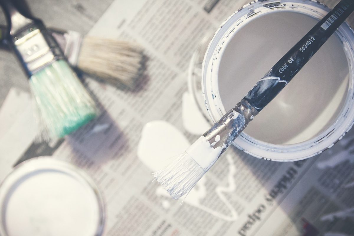 L'intervention d'un peintre pour moderniser l'intérieur de votre maison